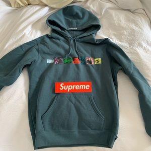 "Supreme ""Land of Fuck"" hoodie"